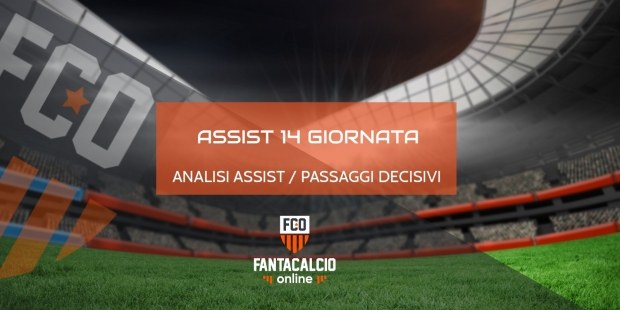 Analisi assist 14° giornata