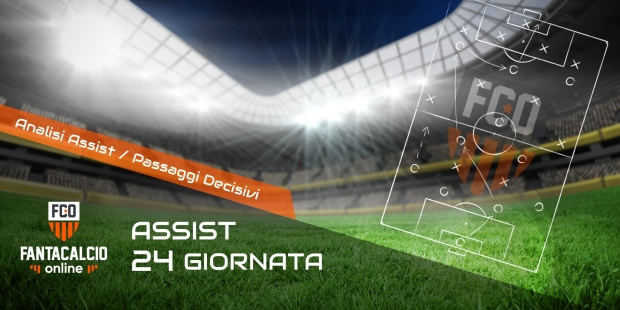 Analisi assist 24° giornata Serie A