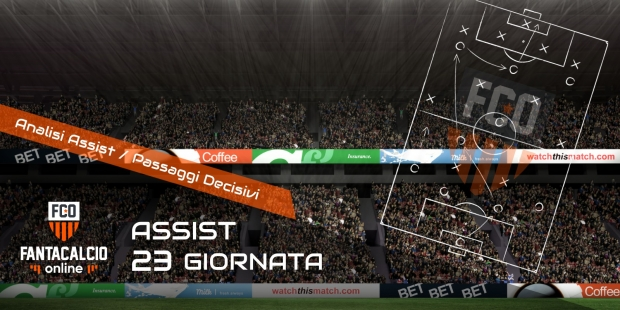 Analisi assist 23° giornata